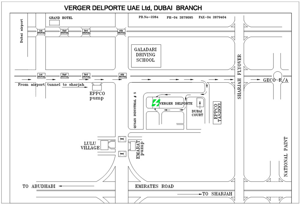 Verger Delporte UAE Limited | Electrical and Mechanical